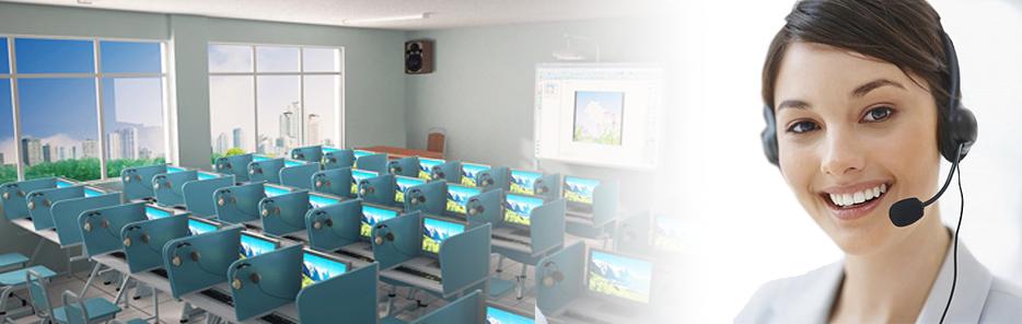 Lắp đặt phòng học ngoại ngữ đa năng VTEC 3110B - Thiết bị giáo dục